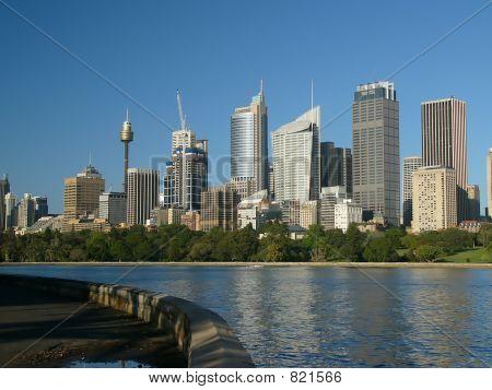Sydney Skyline from the Royal Botanical Gardens