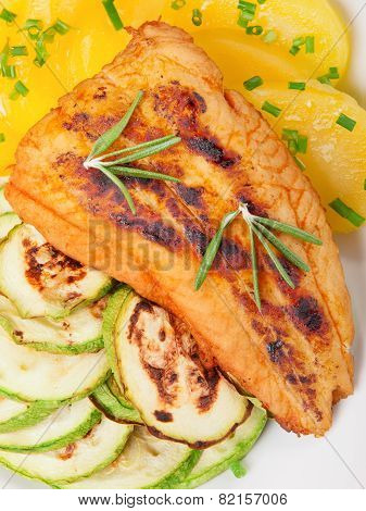 Baked Whitefish With Orange Juice