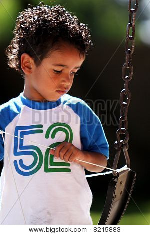Boy With A String And A Swing
