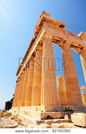 Parthenon At Acropolis, Athens