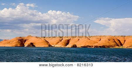 Lake Powell Rock Formation Hills
