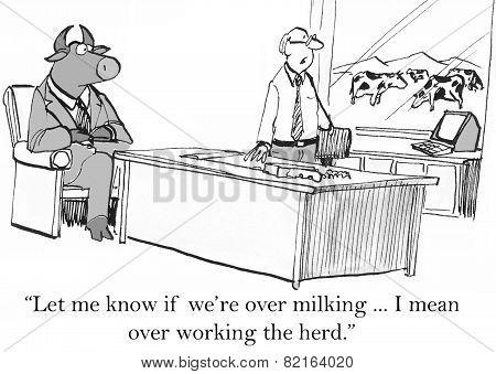 Overworking Herd