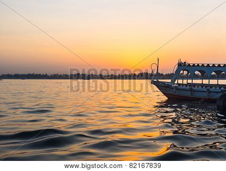 The Sunset Over Nile