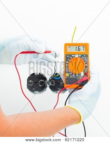 Security Checking With Multimeter