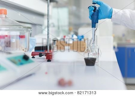 Scientist In Lab