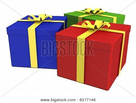 Gift Boxes - Path Included