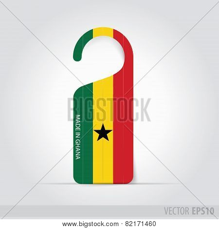 Made In Ghana Tag For Door