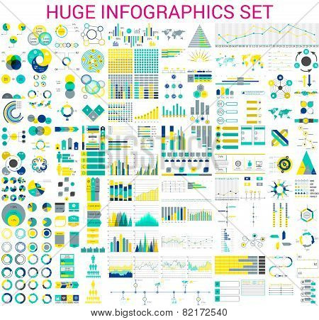 huge Infographics set