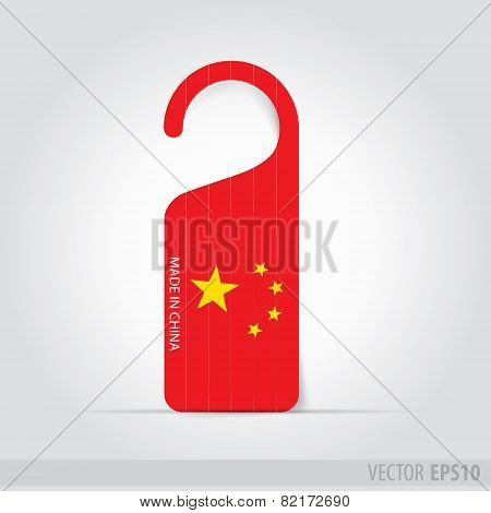 Made In China Tag For Door