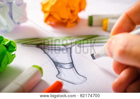Designer Drawing