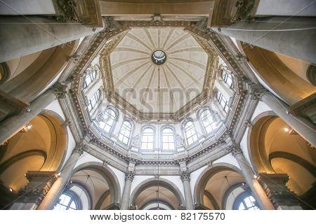 Interior Of Santa Maria Della Salute