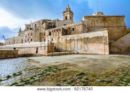 The Citadel, Victoria, Gozo, Malta.