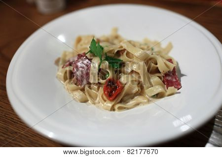 Fettuccine With Vegetables