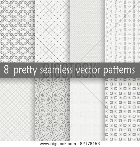 Collection Seamless Pretty Backgrounds