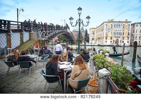 Ponte Dell Academia In Venice