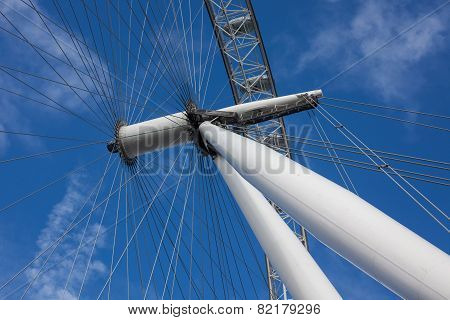 London Eye Structure