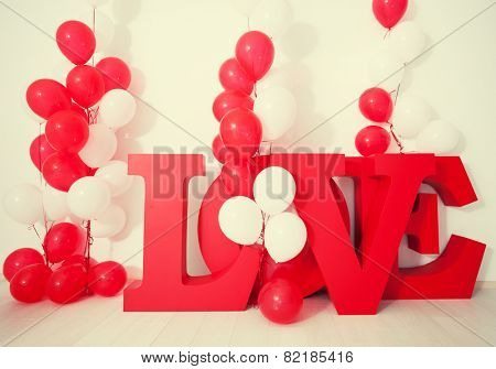 Valentine's day, weddings and other celebrations. Decoration background