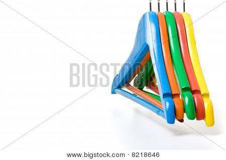 Colorful Children Clotheshangers