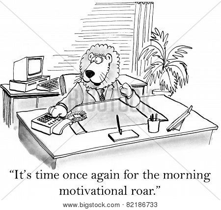 Morning Motivation Roar
