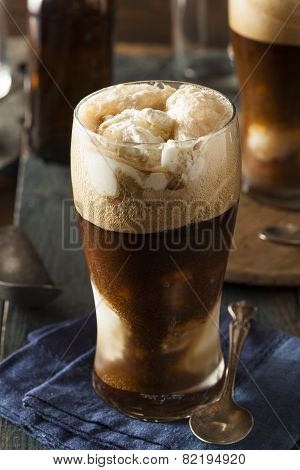 Frozen Dark Stout Beer Float