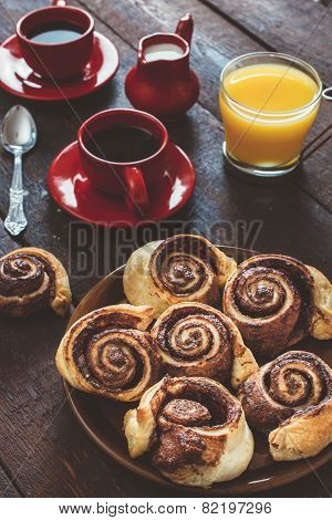 Danish Chocolate Rolls