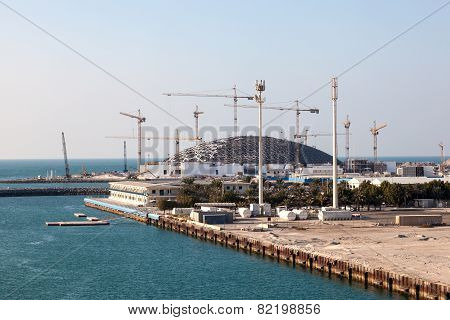 Louvre Abu Dhabi Museum Construction Site