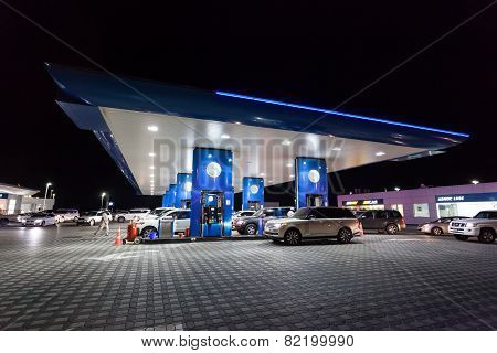 Enoc Petrol Station In Dubai
