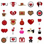 image of soulmate  - The 25 Vector Love Heart Illustration Set - JPG