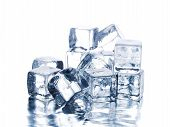 stock photo of ice-cubes  - Ice cubes - JPG