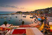 picture of piraeus  - Evening in Mikrolimano marina in Athens - JPG