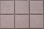 picture of cinder block  - Tan cinder block wall from a building - JPG