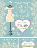 pic of bridal shower  - Bridal shower invitation set - JPG