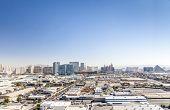 picture of las vegas casino  - Panorama of Las Vegas Area Nevada USA - JPG