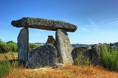stock photo of orca  - Dolmen Pedra da Orca em Gouveia Portugal - JPG