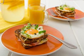 foto of french toast  - Baked French toast  - JPG