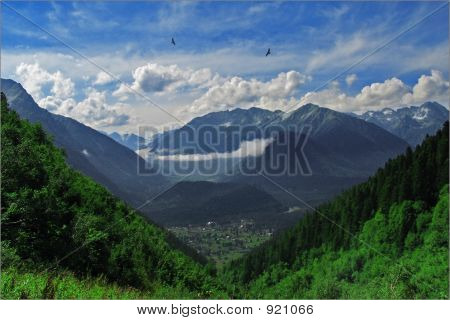 Arhyz. Mountains