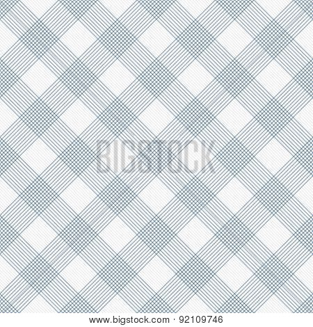 Blue And White Striped Gingham Tile Pattern Repeat Background