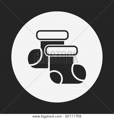 Baby Socks Icon