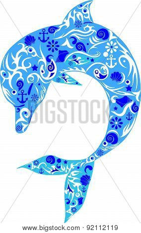 Dolphin, sea animal