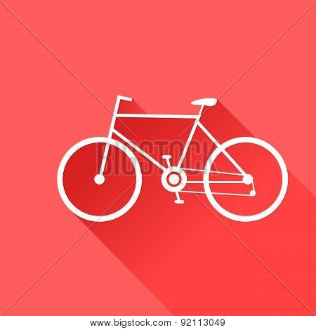 Sport Bike. Vector Illustration.