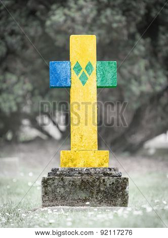 Gravestone In The Cemetery - Saint Vincent And The Grenadines