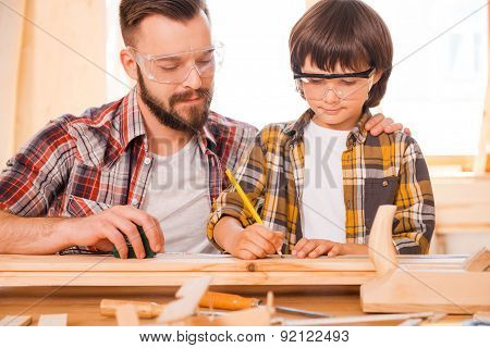 One day you will be a talented carpenter.