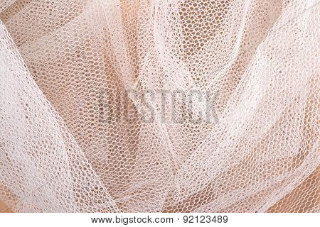 White Tulle Close Up