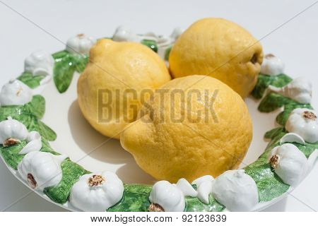 Yellow Fresh Lemons