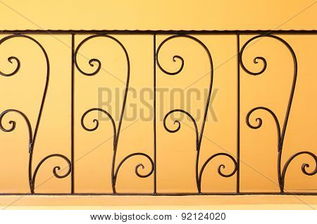 Decorative, Forged Banisters