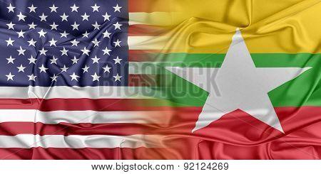 USA and Burma