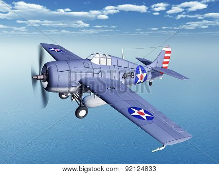 American fighter plane of World War II