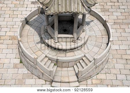 Chinese Style Stone Gazebo