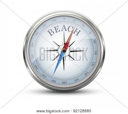 Beach Concept Compass