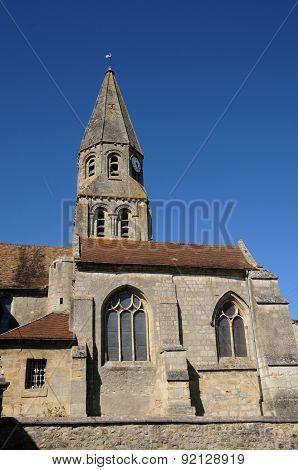 The Saint Etienne Church Of Bouconvillers In Picardie
